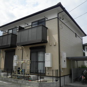 豊田市 Gアパート アパートの外壁塗装をしました!