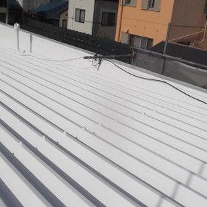 名古屋市 M様邸 屋根がピカピカで大満足です。
