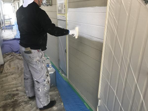 刈谷市 アパート外壁塗装工事