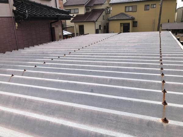 岡崎市⇒車庫・折半屋根・外壁🏘